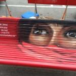 8 marzo 2016 panchina contro violenza